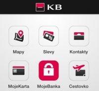 Povolení aplikace Mobilní banka KB
