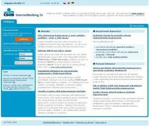 ČSOB Internetbanking 24